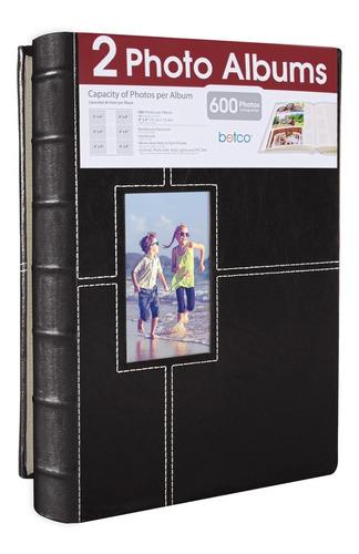 Álbum Fotográfico Para 600 Fotos Set Paquete De 2  10x15 Cm