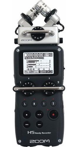 Grabadora De Audio Interfase Zoom H5 - Envíos + Cuotas !