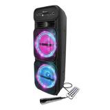 Parlante Bluetooth Inalambrico Karaoke Max Potencia Usb Sd