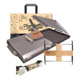 Planchetta + Pinza + Espátula + Patas +tapas+bolsa De Regalo
