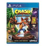 Crash Bandicoot: N. Sane Trilogy Standard Edition Activision Ps4 Físico