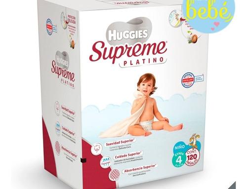 Pañales Para Niño Etapa 4, Huggies Supreme Platino