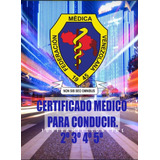 Certificado Médico Vial