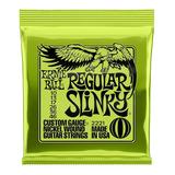 Cuerdas Guitarra Eléctrica Ernie Ball Regular Slinky 10-46