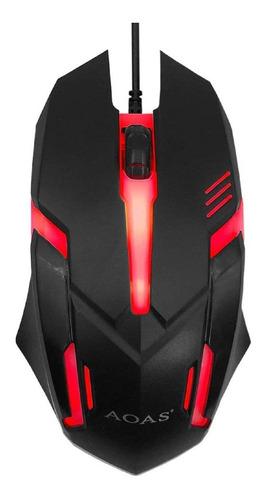 Mouse Gamer Aoas Vox V02  Mouse Alambrico Gamer Usb Gaming