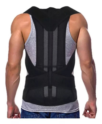 Faja Corrector Postura Espalda Lumbar Unisex