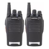 2 Rádio De Comunicação Escopo 12 Km Baofeng 16 Canais  777s