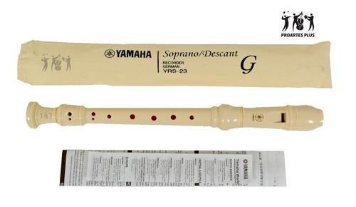 Flauta Dulce Soprano Yamaha Yrs-23 (beige) Yrs23