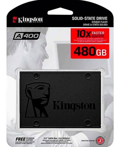 Disco De Estado Solido Sdd Kingston A400 480gb Envío Gratis