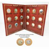Álbum Para Monedas Conmemorativas $20