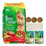 Comida Perro Adulto Dog Chow 24 Kg + Regalo + Envío Gratis