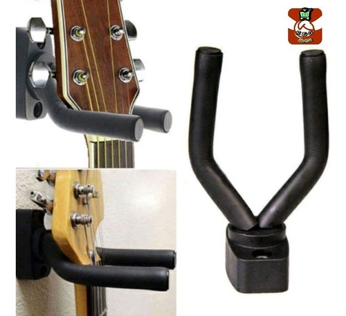 Soporte Pared Guitarras Kit Completo