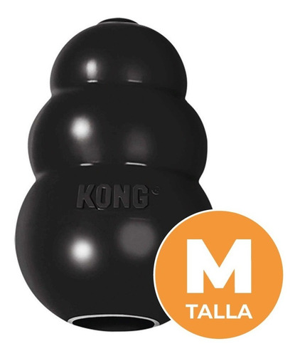 Kong Classic Extreme M - Perro - Ultra Resistente Rellenable