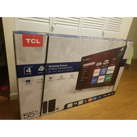 Tcl 55s405 55 4k Led Roku Smart Tv - Black