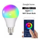 Bombillo Led Wifi Rgb 12w Google Home Y Alexa