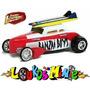 Johnny Lightning Surf Rods Banzai Babes Ford Lacrado 1:64 Original