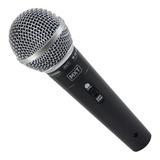 Microfone Mxt M-58 Dinâmico  Cardióide E Unidirecional Preto