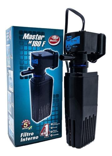 Filtro Para Aquario Interno Com Bomba Oxigenador 180 L/h