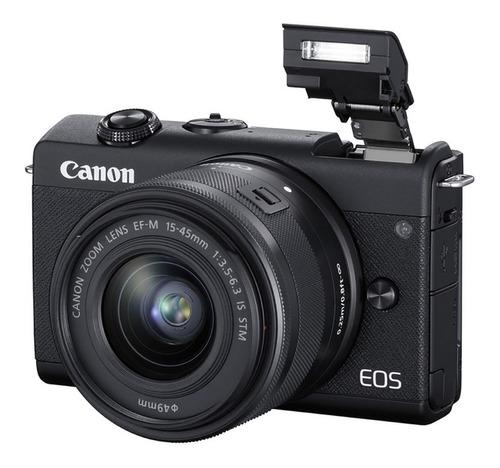 Cámara Canon Eos M200 Mirrorless Lente 15-45mm 24,1mp Wifi