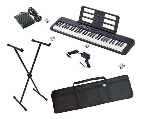 Teclado Casio Ct-s300 Bk Casiotone+pedal Sustain+bag+suporte