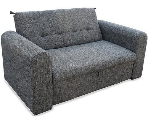 Sofa Cama Mandy 1 1/2 Plazas En Chenille Colores- Caba Y Gba