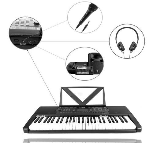 Teclado Musical Infantil 54 Teclas Sal. Auxiliar Y Metodo Ax