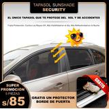 Tapasol Security Lunas Abajo Adecuado Para Todo Vehículo