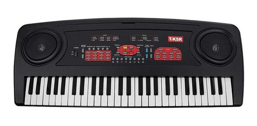 Teclado Musical De 54 Teclas Y Micrófono Kaiser Mtc-5470