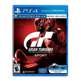 Gran Turismo Sport Standard Edition Sony Ps4 Físico
