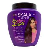 Skala Mais Lisos Máscara Vegana Crema De Peinar Lacios X 1kg
