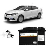 Bateria 60 Amp 12v Renault Fluence Con Instalacion