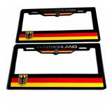 Par (2) Portaplacas Deutschland Vw Seat Audi Bmw