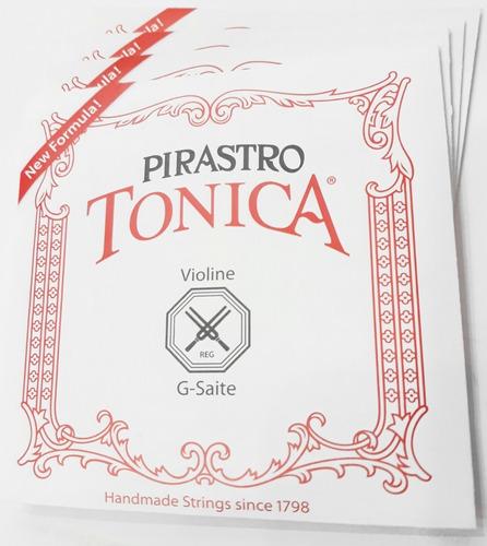 Pirastro Tonica Cuerdas Para Violín 4/4