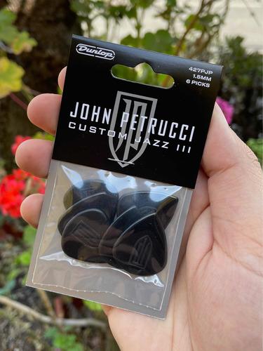 Uñetas Dunlop Jazz Iii Signature John Petrucci Negras