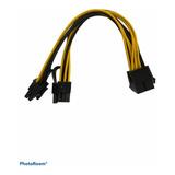 Cable Adaptador Splitter Pcie 8 A 2x 8 Pin (6+2) Mineria