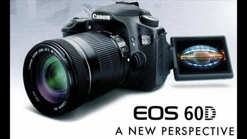 Camara Profecional Canon Eos 60d + Lente 18-135 + Regalos