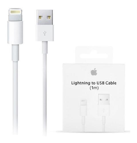 Cable Cargador Usb Original Lightning iPhone 6 7 8 X Xs Xr