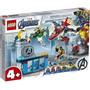 Lego Marvel Os Vingadores A Ira De Loki Com 223 Peças 76152 Original