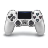Control Joystick Inalámbrico Sony Playstation Dualshock 4 Silver