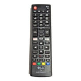 Control Remoto LG Smart Tv Botón Netflix + Baterías