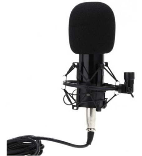 Microfono Condenser Bm-800 Soporte Shock Mount Youtuber
