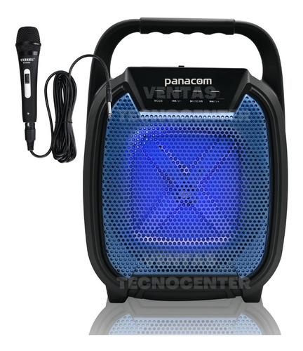 Parlante Portatil Panacom Sp-3040 Karaoke Bluetooth Usb Fm