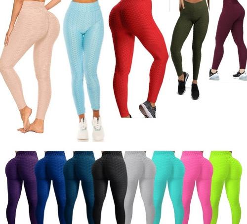 Leggins Anticelulítico Texturizados Yoga Pantalón Deportivo.