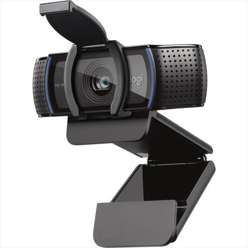 Logitech C920s Pro, Webcam Hd / Videochats En Full Hd 1080p