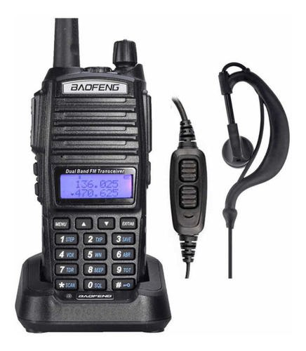 Radio Baofeng Uv-82 Uhf Con Manos Libres Profesional
