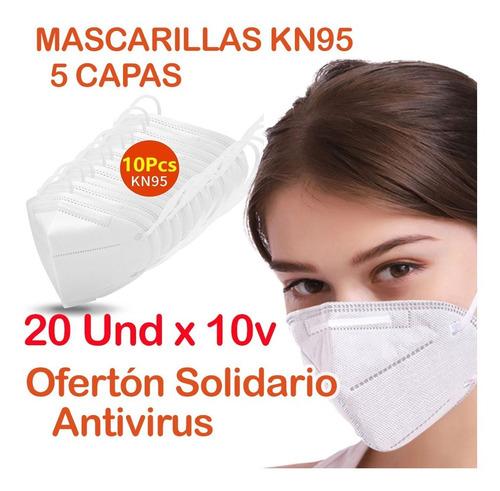 Mascarilla Tapaboca Mascara Respirador Kn95 N95 Certificada