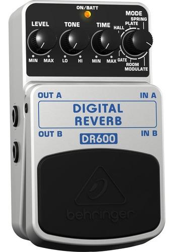 Pedal Digital Reverb Behringer Dr600 Envio Inmediato +