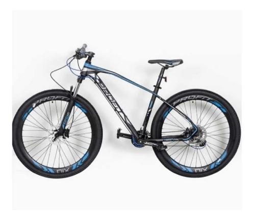 Bicicleta Profit X10 M2020 Boston Tourney 8v Hidráulica Bloq