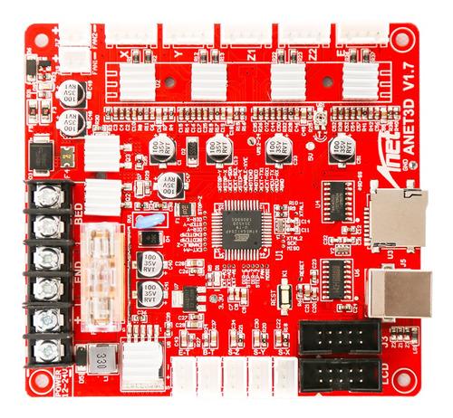 Anet A1284-base V1.7 Placa De Control Madre Placa Base