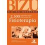 Livro Bizu Fisioterapia 2500 Questões - Justiniano Original